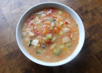 Gemüsesuppe (Rezept)