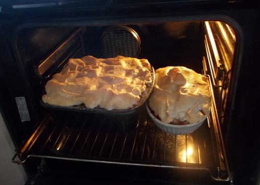 Und zurück in den Ofen!