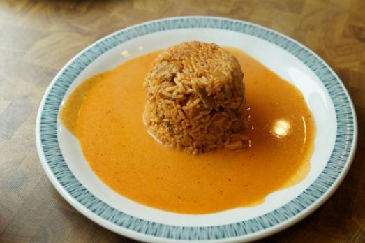 Ein Klassiker: Reisfleisch
