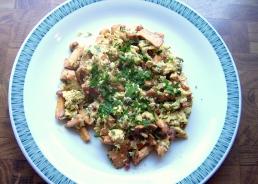 Geröstete Eierschwammerl (Rezept)
