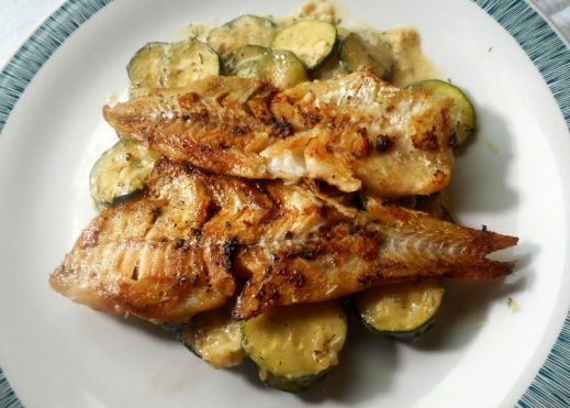 Zucchinigemüse mit Dille (Rezept)