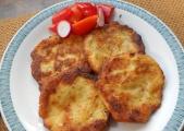 Kartoffel-Sauerkraut-Puffer (Rezept)
