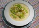 Legierte Karfiolsuppe mit Lauch (Rezept)